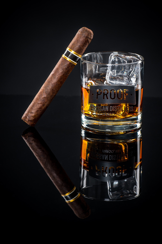 Proof Whiskey Cigar by Darren L