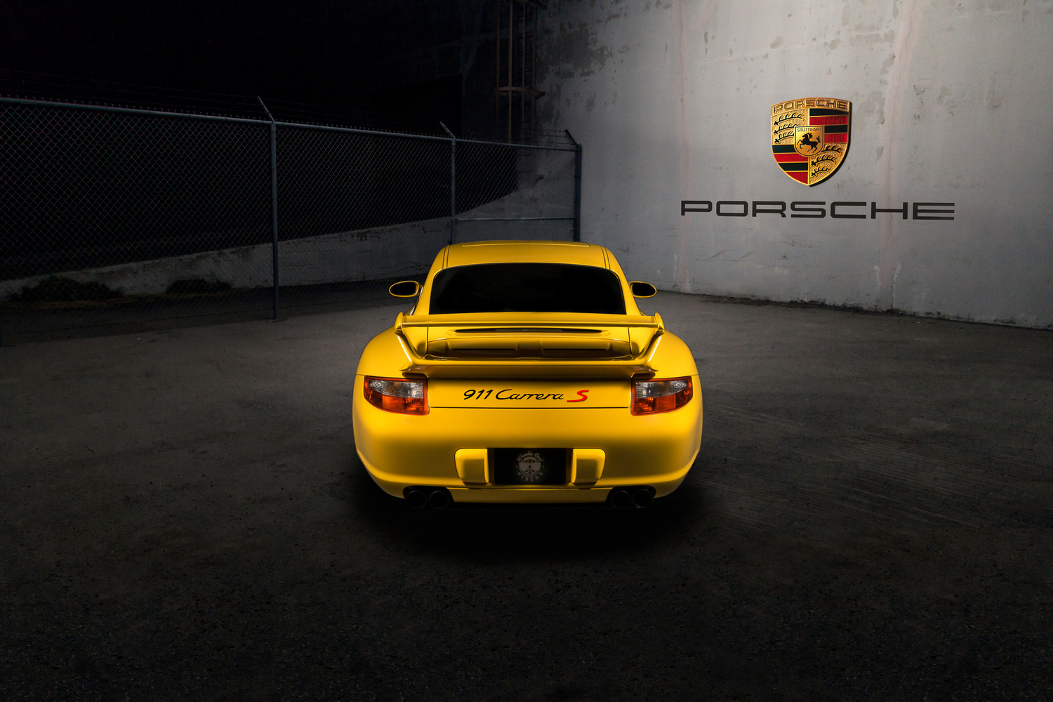 Yellow Porsche 911 Carrera S by Steven Hicks