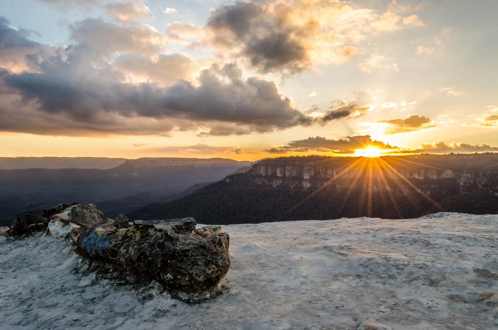 Flat Rock by David Parry