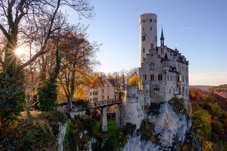 Schloss Lichtenstein by Tobias Kiemle