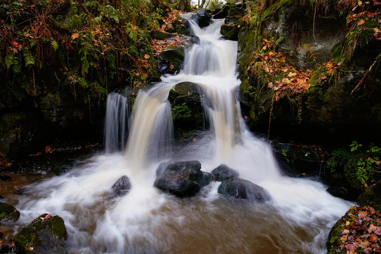 Todtnau Falls by Tobias Kiemle