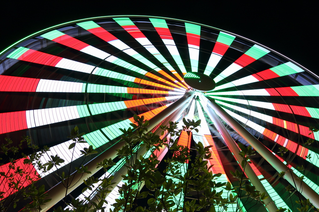 Sky Wheel at the Island by howard agnew