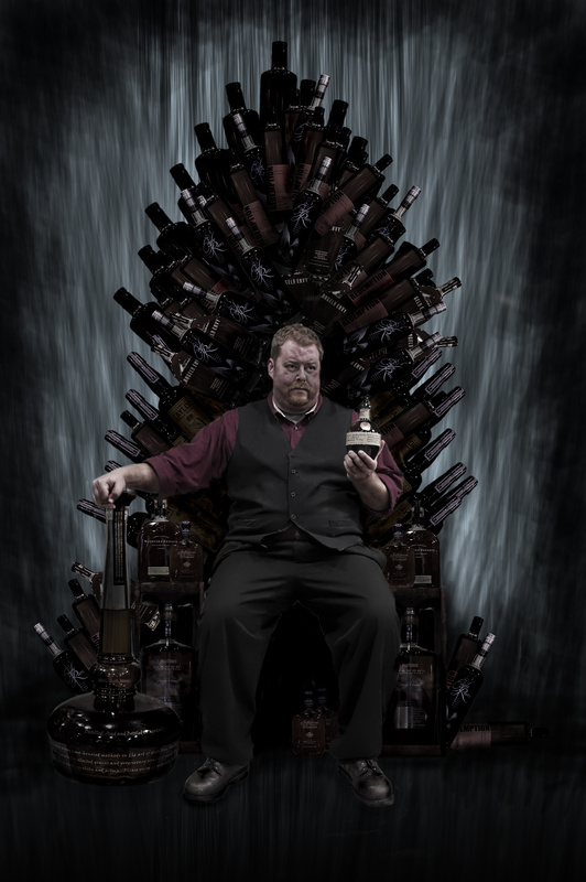 The Bourbon Throne by Gary Hutchison