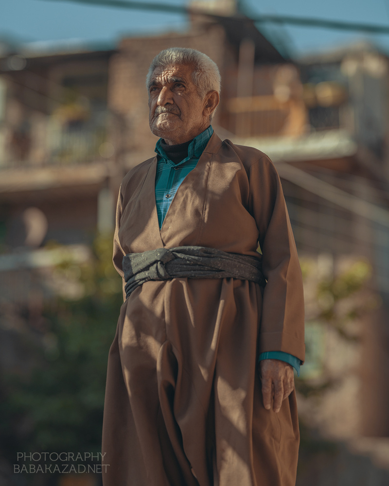 Old man in Nowdeshah by Bob Libero