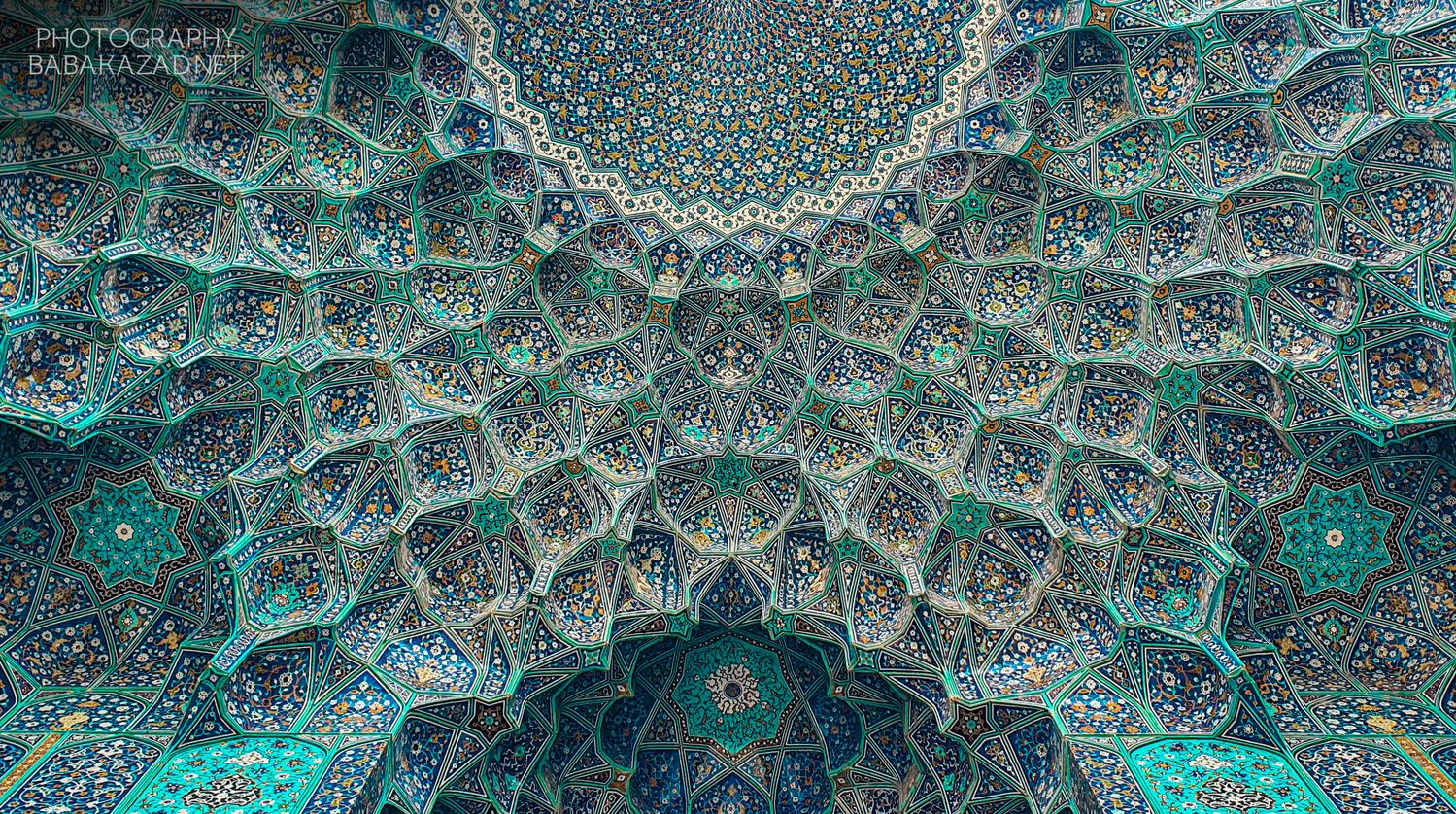 Shah Mosque (Isfahan) by Bob Libero