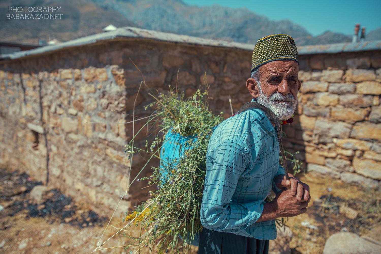 Farmer in Dezli Village by Bob Libero