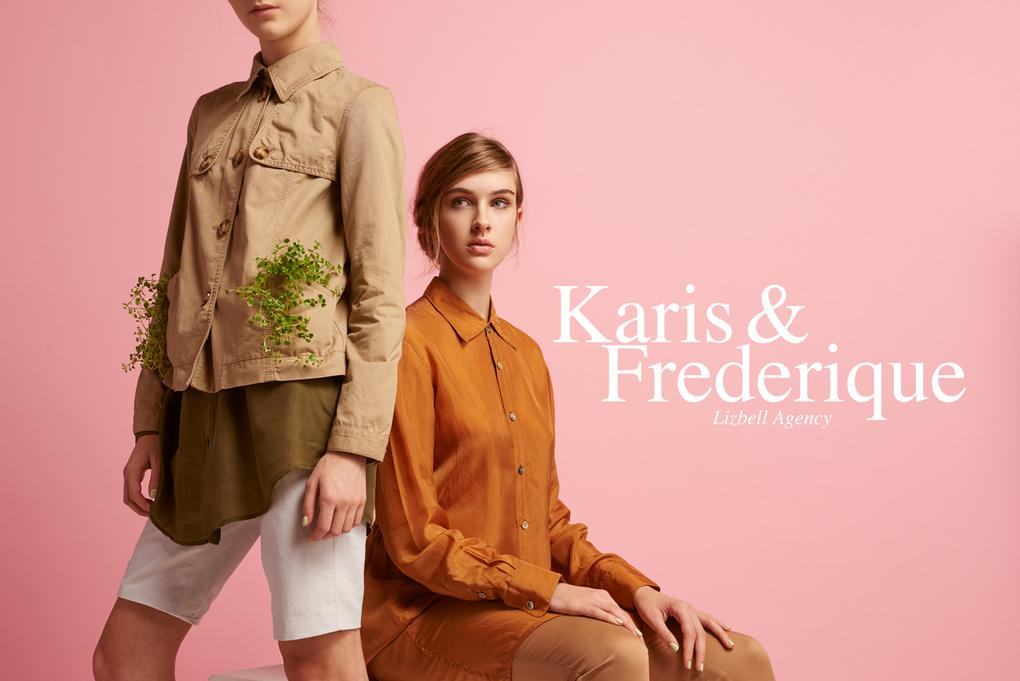 Karis & Frederique  by Noah Asanias