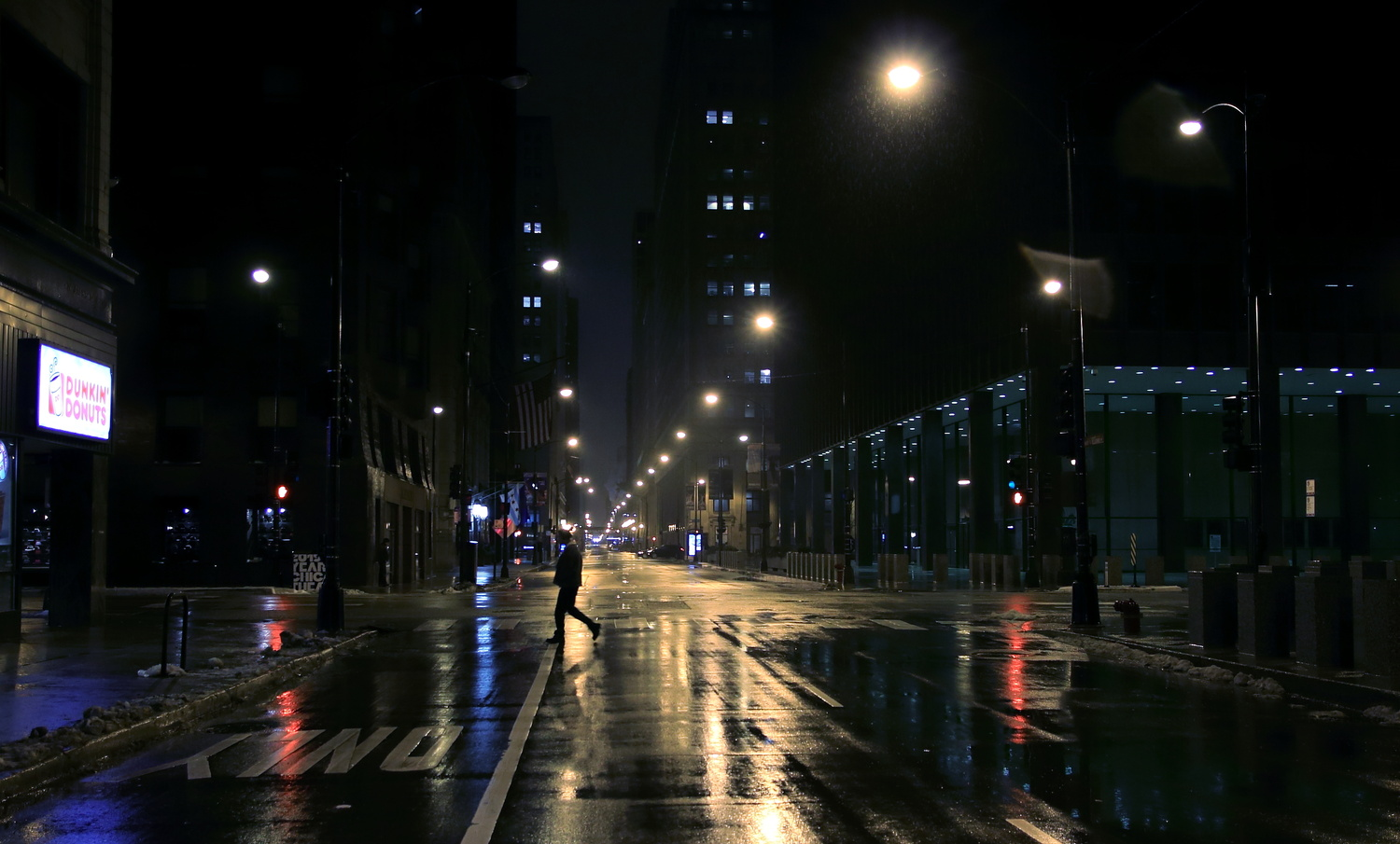 Alone in Urban Darkness . by Tracy Webb