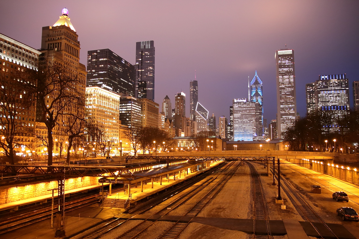 Chicago south loop . by Tracy Webb