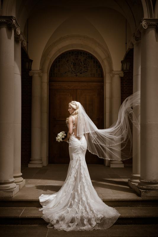 Ana Bride Portrait by Dalbir Virdee