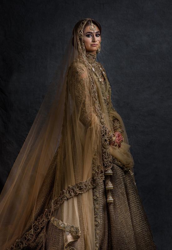 Rameka Bridal Portrait by Dalbir Virdee