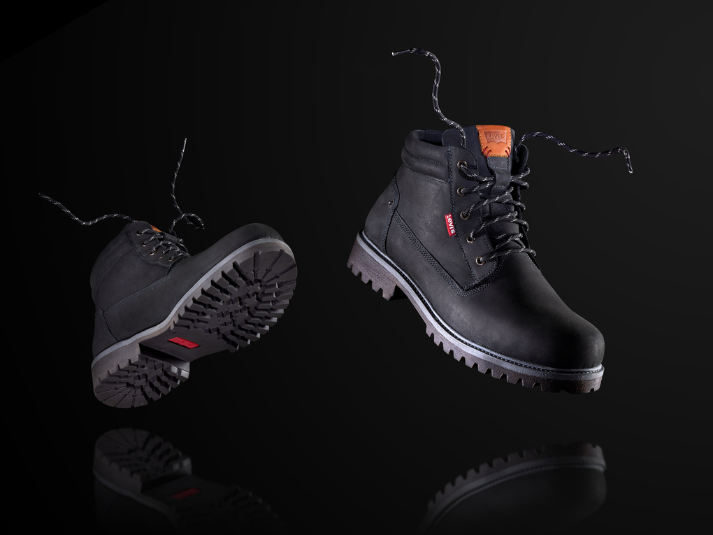 """In the """"Air"""" Levis trekking boots.  by Jonathan Raho"""