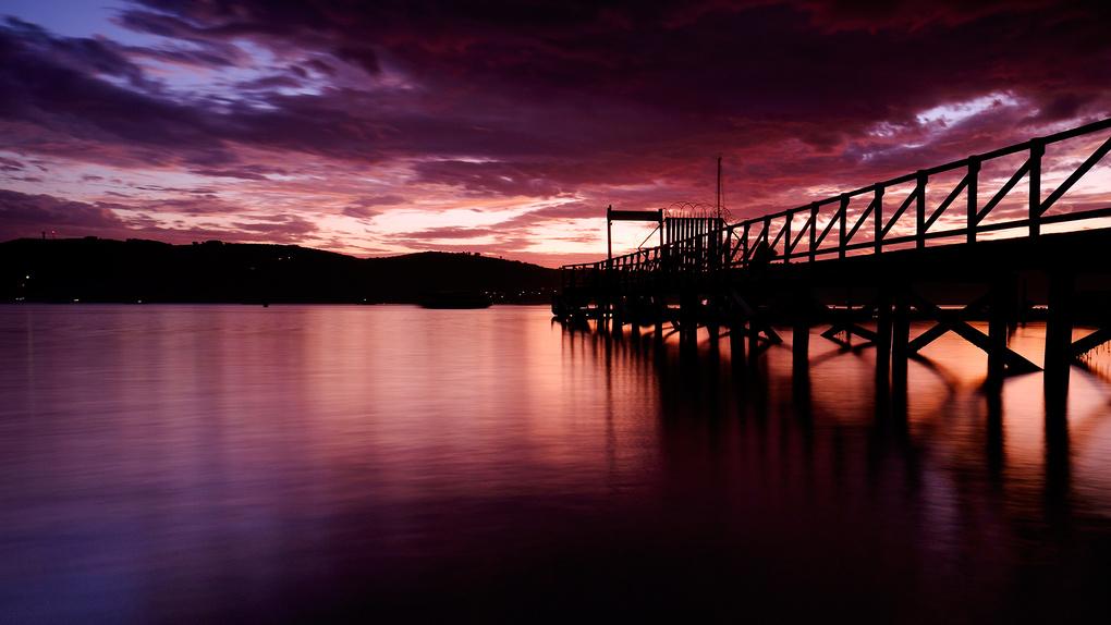 Knsyna Lagoon Sunset by Grant McKinlay