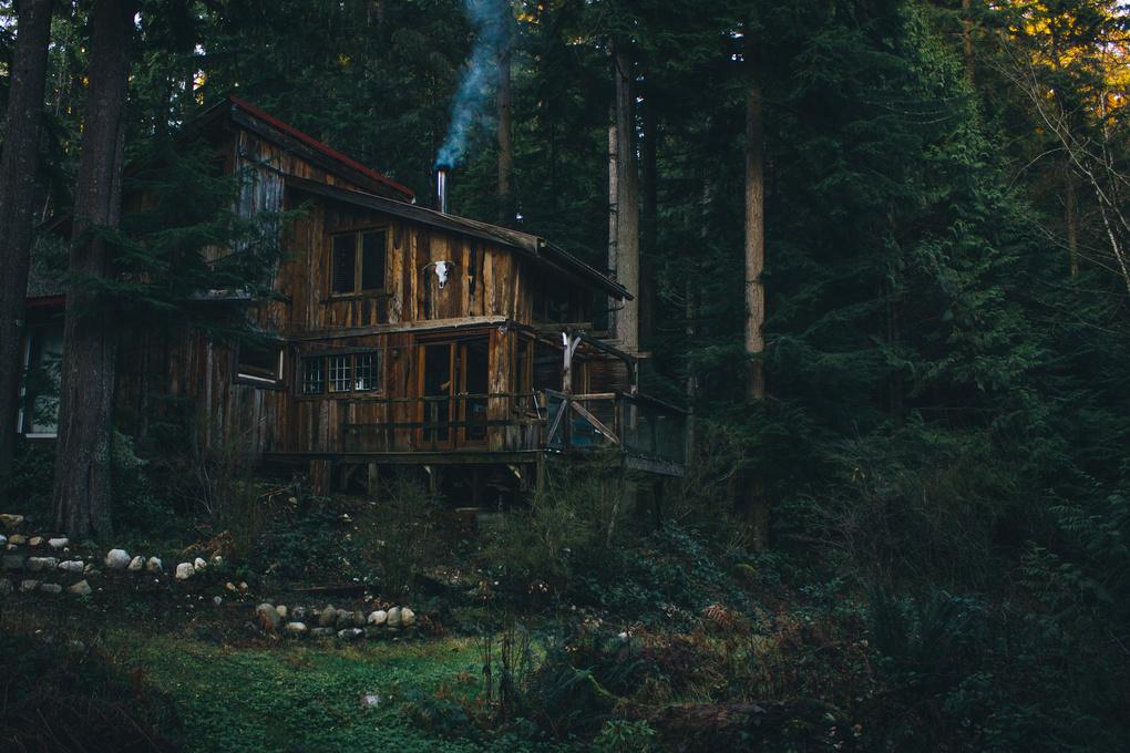 Curtis's Cabin by Nick Tingren