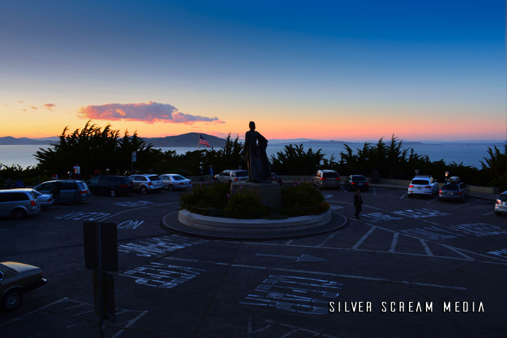 View from a Coit Tower  by Scott Marabillas