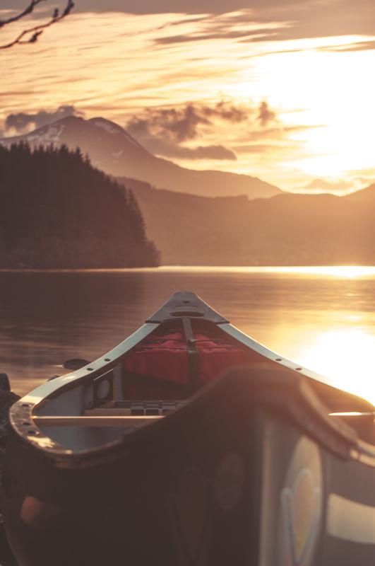 Loch Ard Sunset by Craig Bunyan