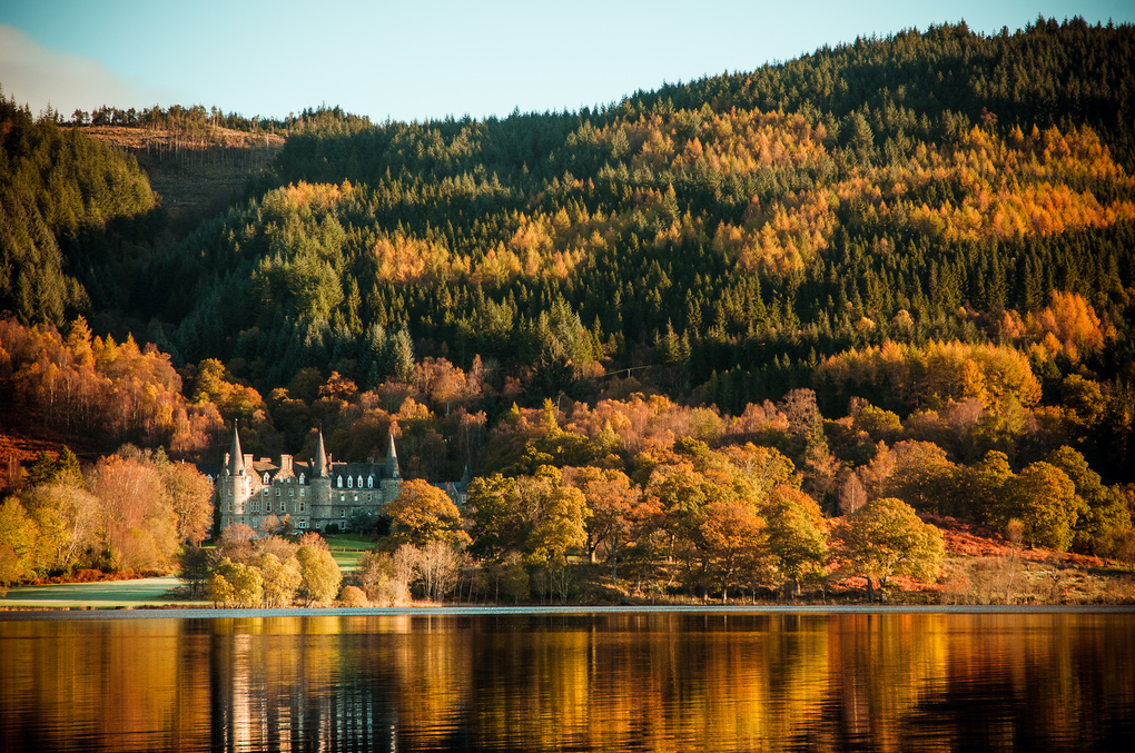 Autumn/Fall in the Trossachs by Craig Bunyan
