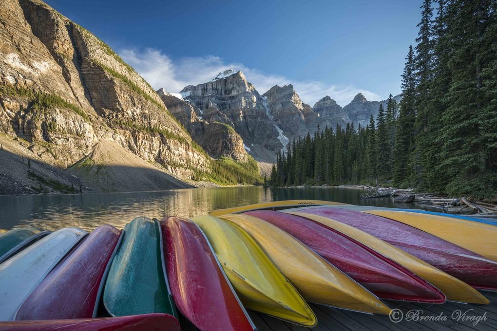 Moraine Lake by Brenda Viragh