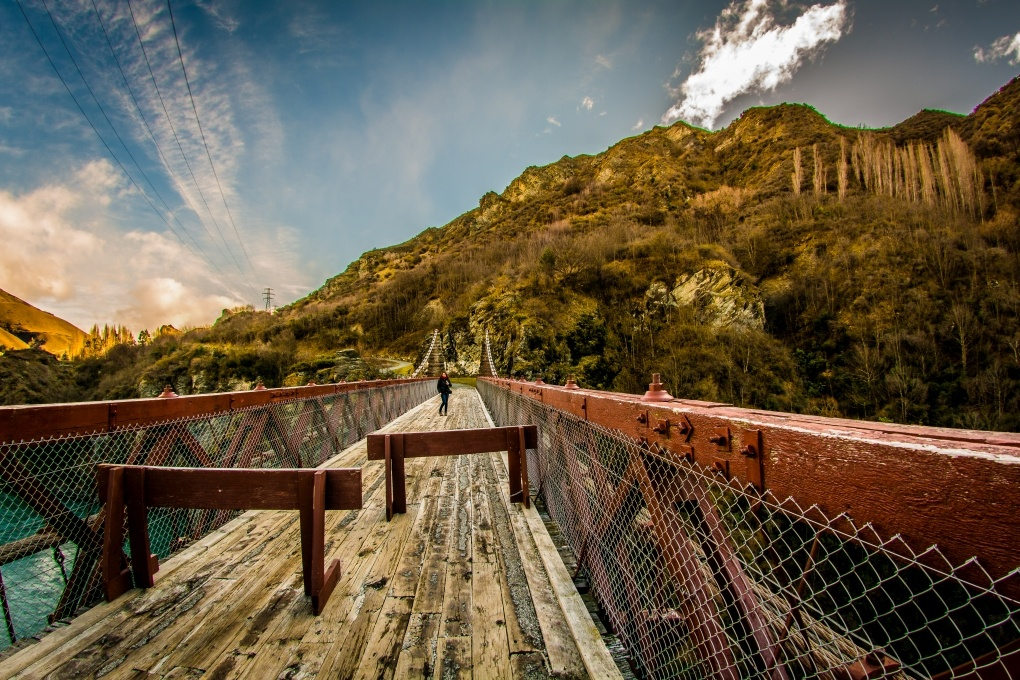 Bungee Bridge by Dennis Abel