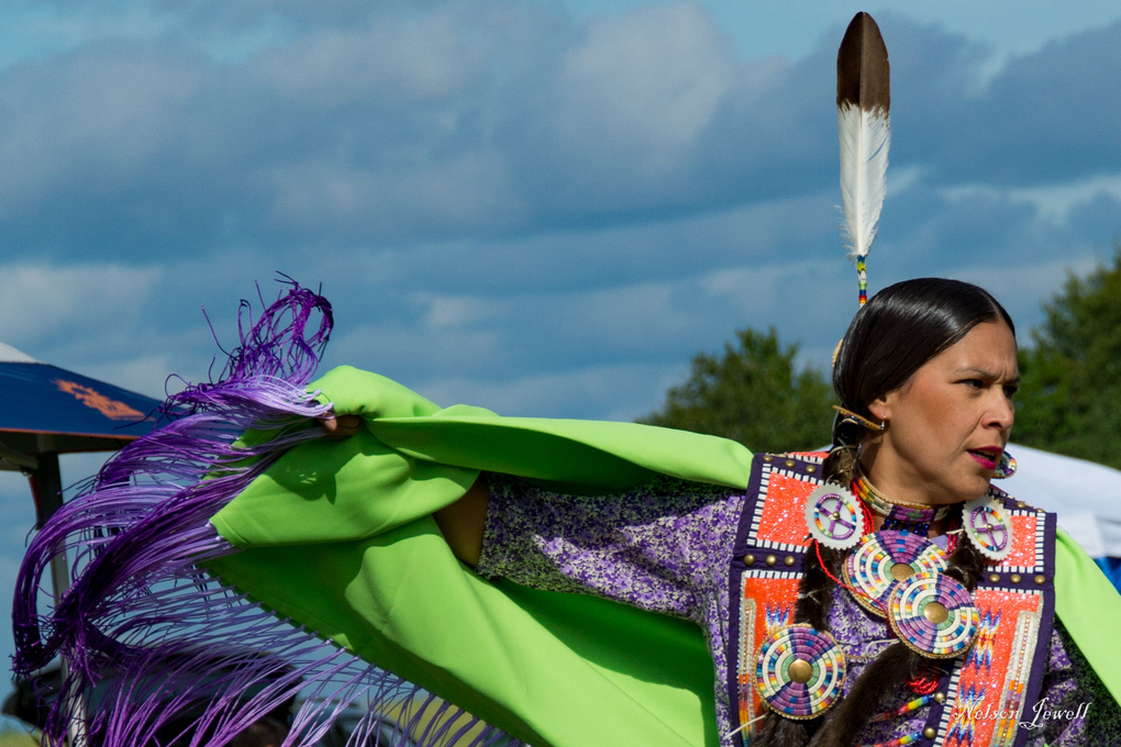 Native Micmac Dancer by Nelson Jewell