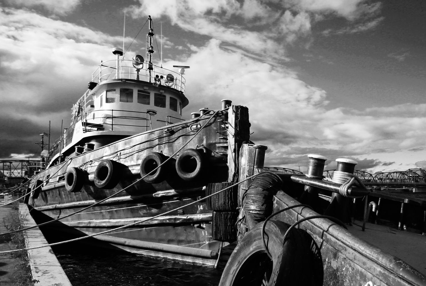 Tug Boat by Scott Seroka
