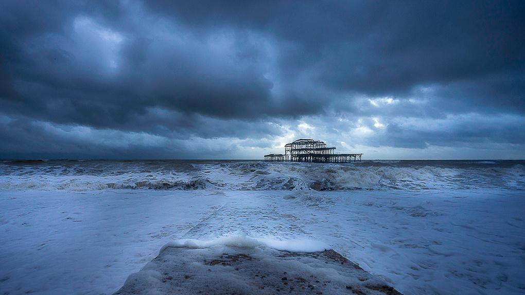 Alone into the storm by Svilen Danyovski
