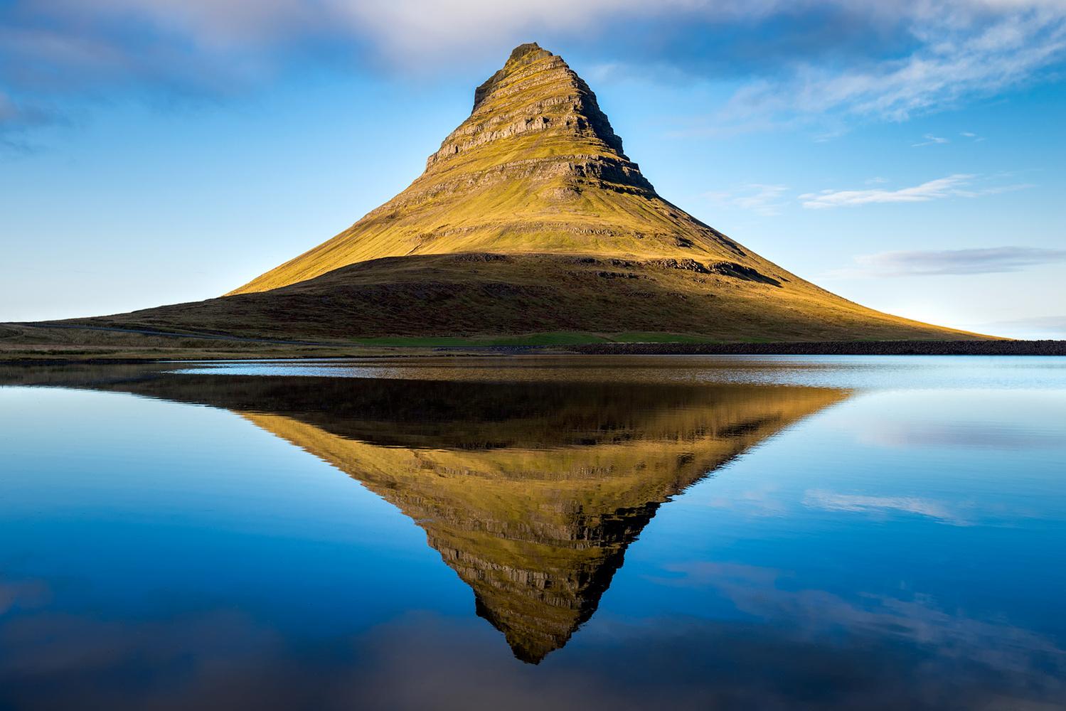 Kirkjufell without the Foss by Daniel McCloud