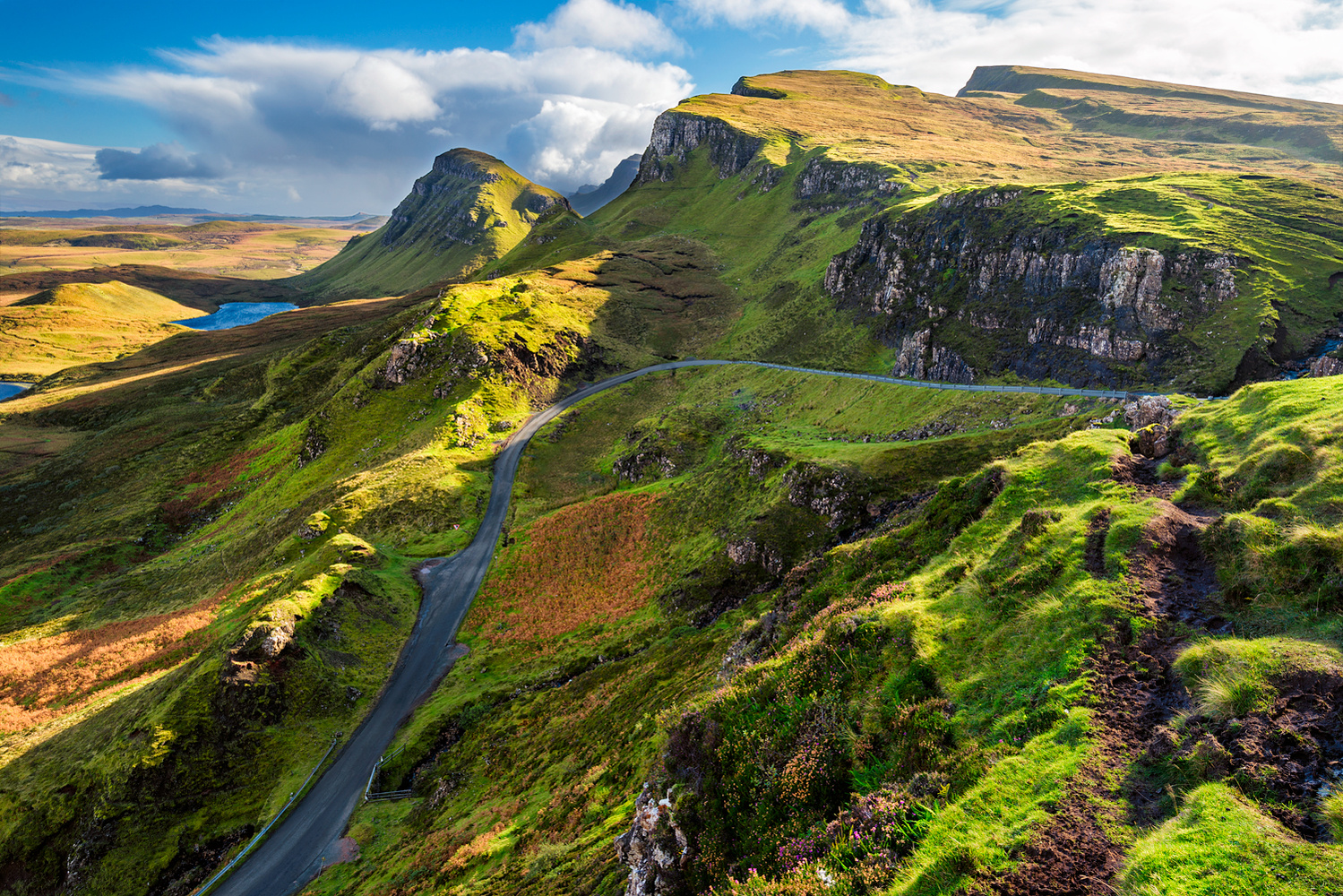 Quiraing, Isle of Skye, Scotland by Daniel McCloud