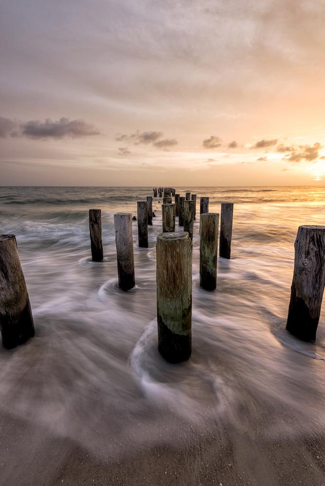 Naples Pylons by Daniel McCloud