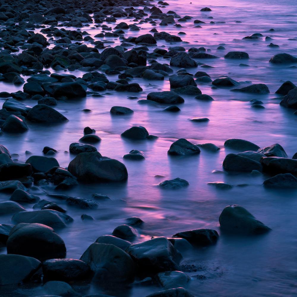 Sunset on Surf by Dan McCloud