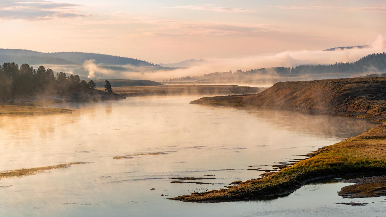 Yellowstone Dawn by Dan McCloud