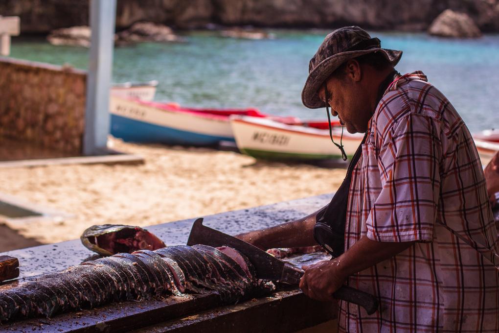 Fisherman friend by Leon Vermij