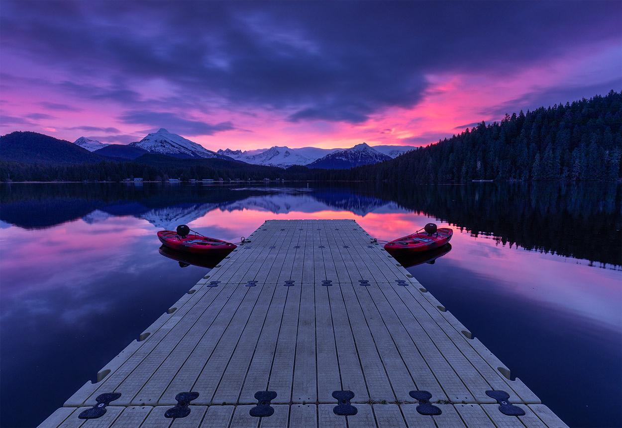 the dock by Peter Nestler