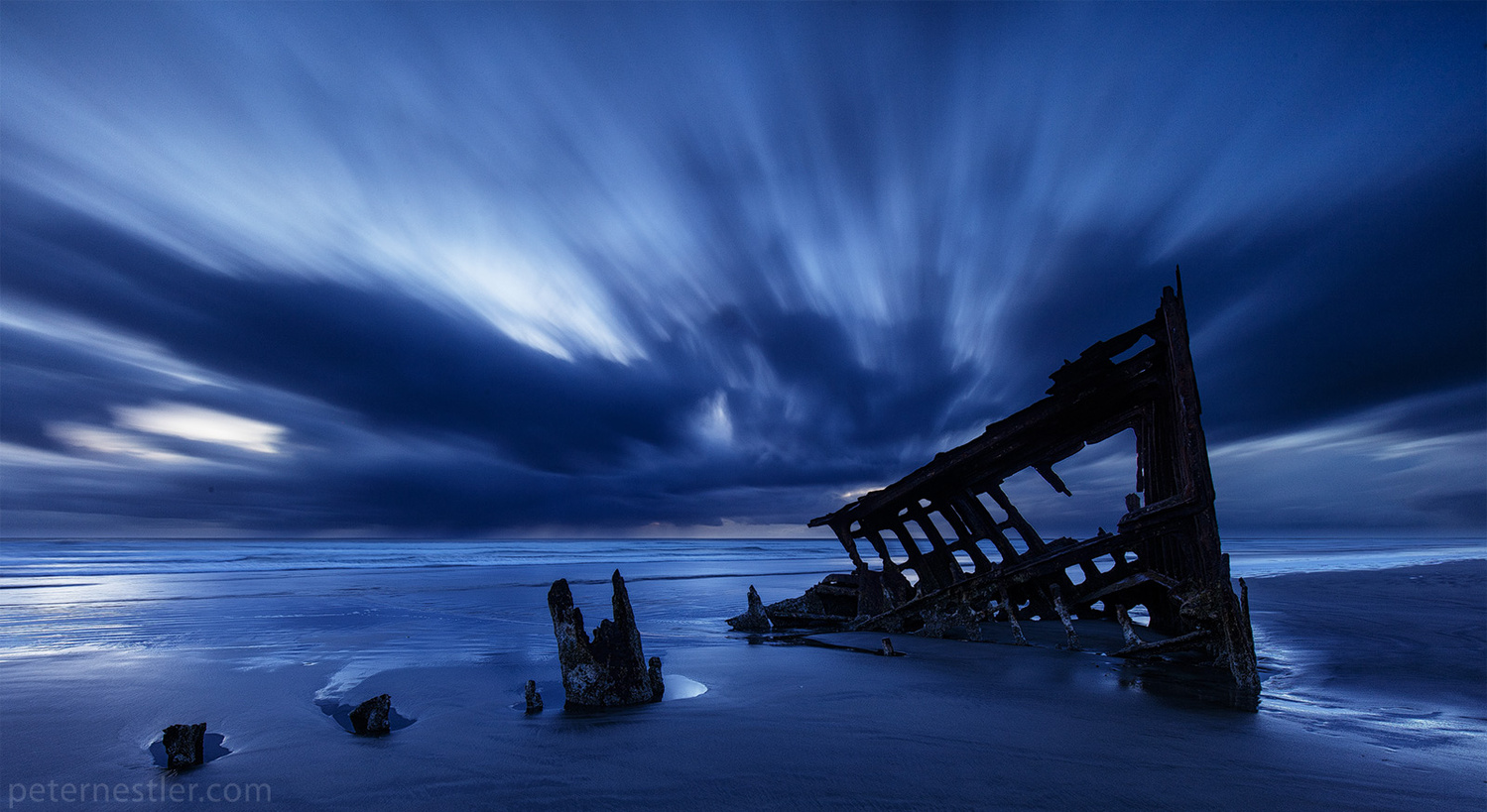 Ship in the Night by Peter Nestler
