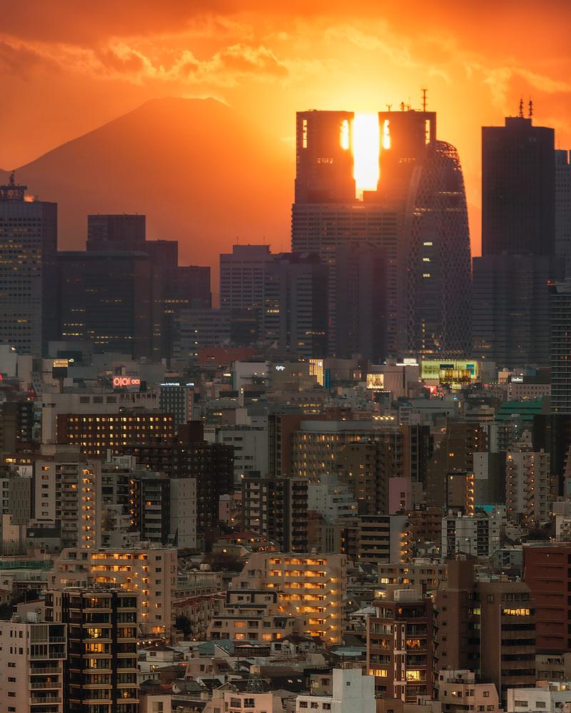 Sunset Cross by Musashi Sakazaki