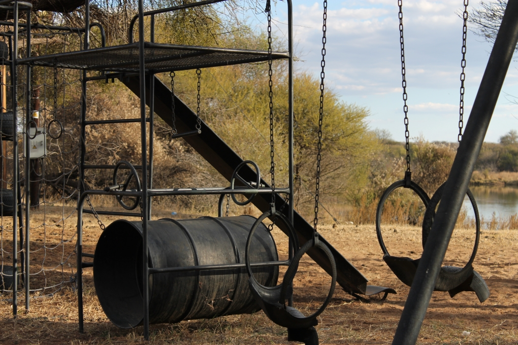 Abandoned Playground by Matthew Taggart