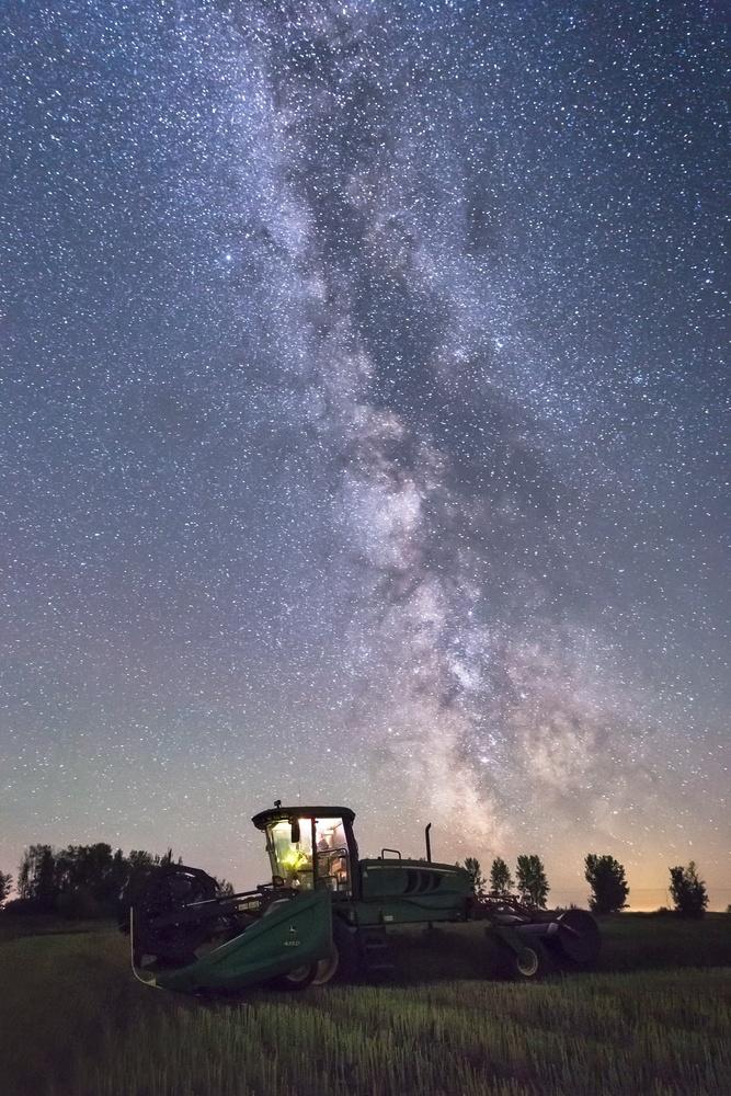 Harvest Under the Stars by Brendon Fidek