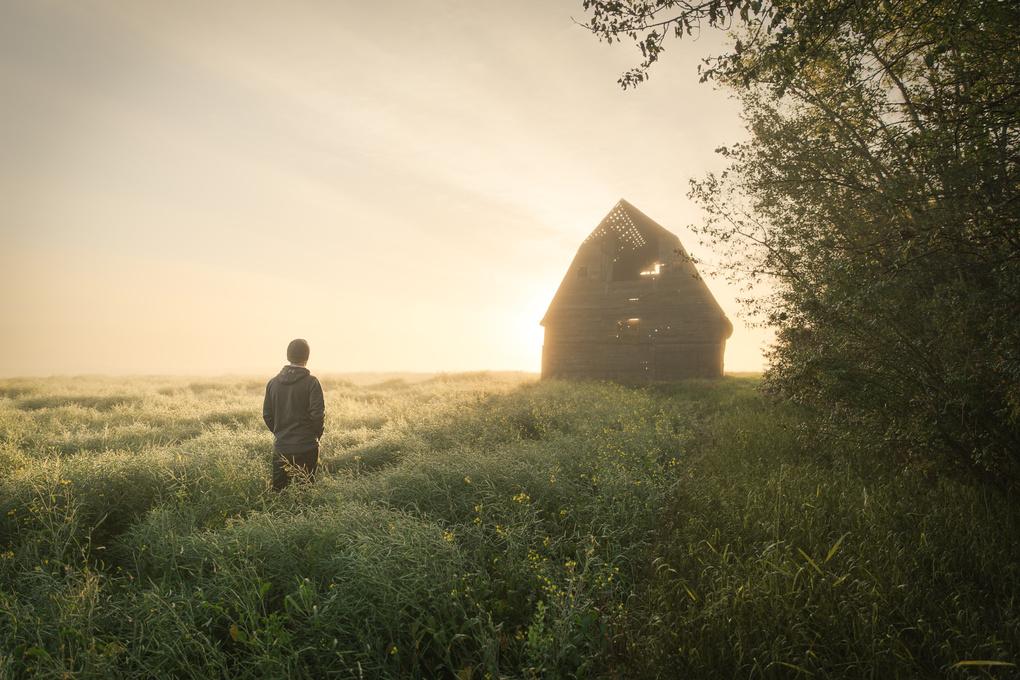 Morning Fog by Brendon Fidek