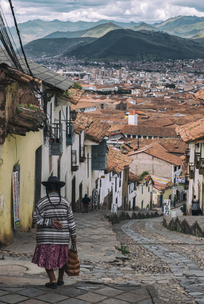 Cusco city and it's mountains by Pedro Pulido