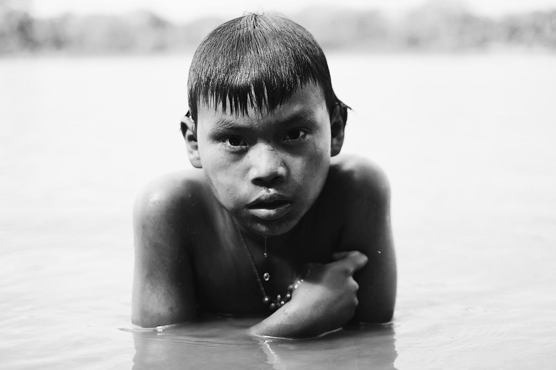 Callet, 9years old, Matsigenka tribe by Pedro Pulido