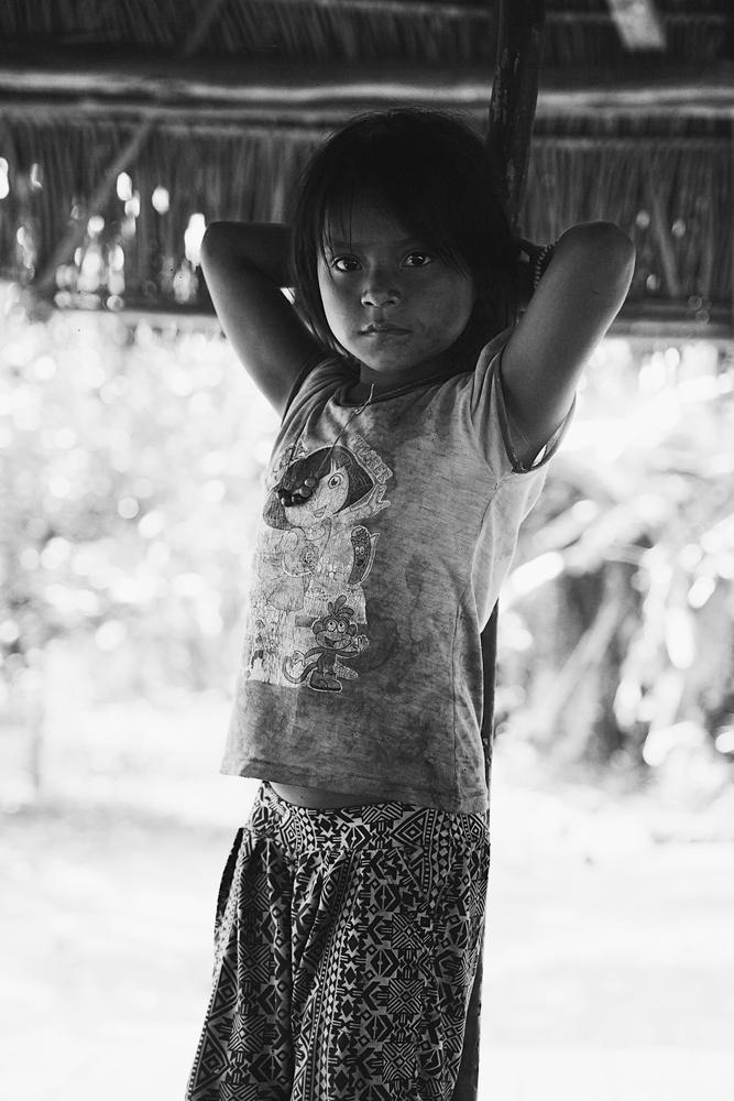 Adli in her village by Pedro Pulido