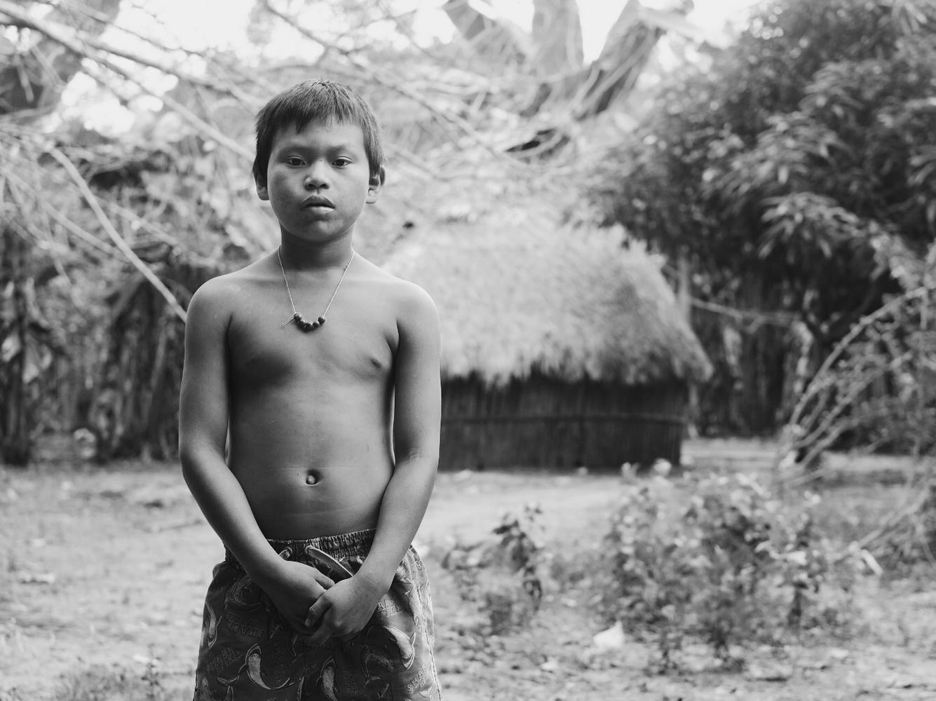 Callet in his Matsigenka village by Pedro Pulido