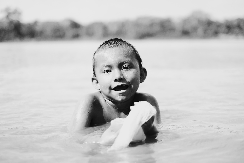 Heidi, 5 years old, Matsigenka tribe by Pedro Pulido