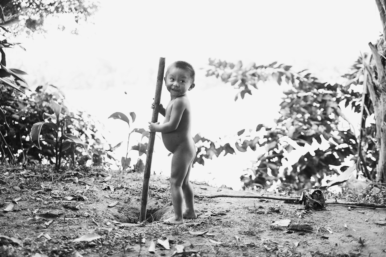 Hami, Matsigenka kid by Pedro Pulido