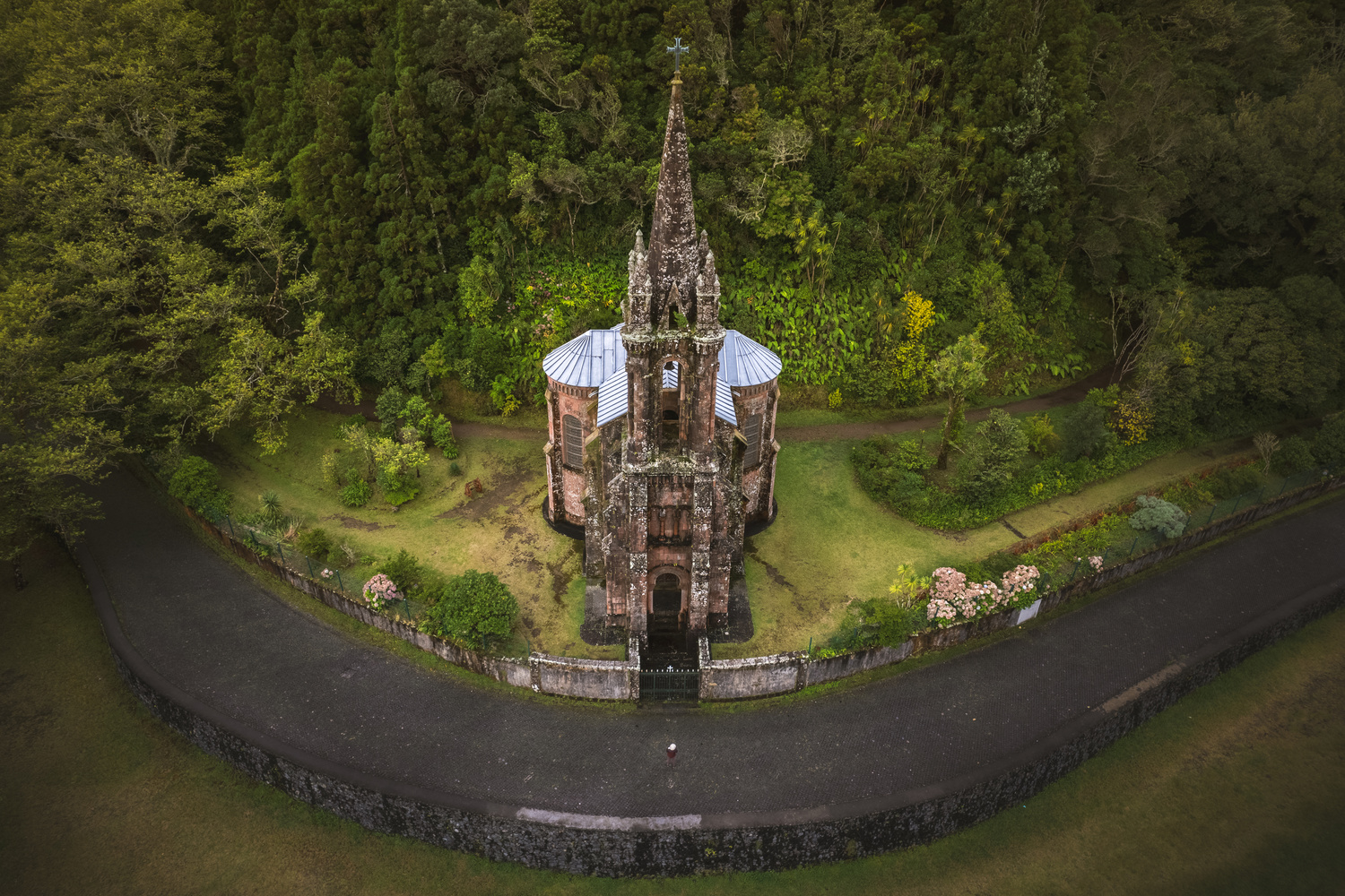 A Chapel in the Azores by Pedro Pulido