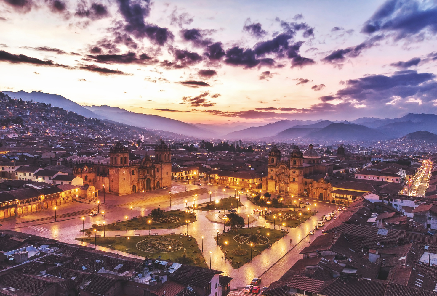 Sunrise in Cusco, Peru by Pedro Pulido