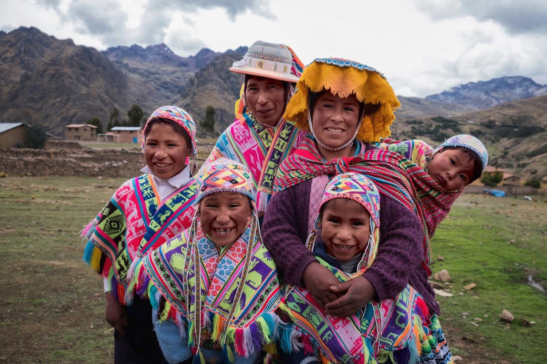 Portrait of a Quechua Family by Pedro Pulido