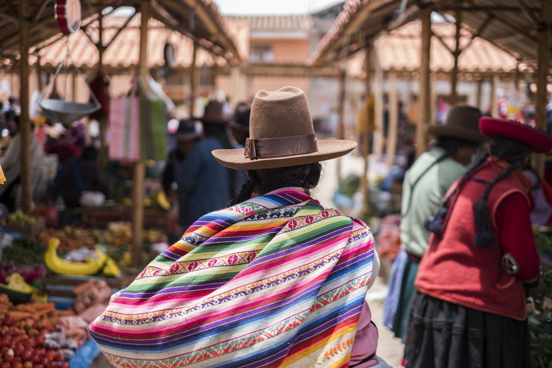 Chinchero Market, Cusco, Peru by Pedro Pulido