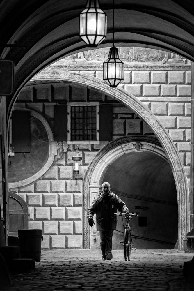 The castle commuter by Tim Sullivan