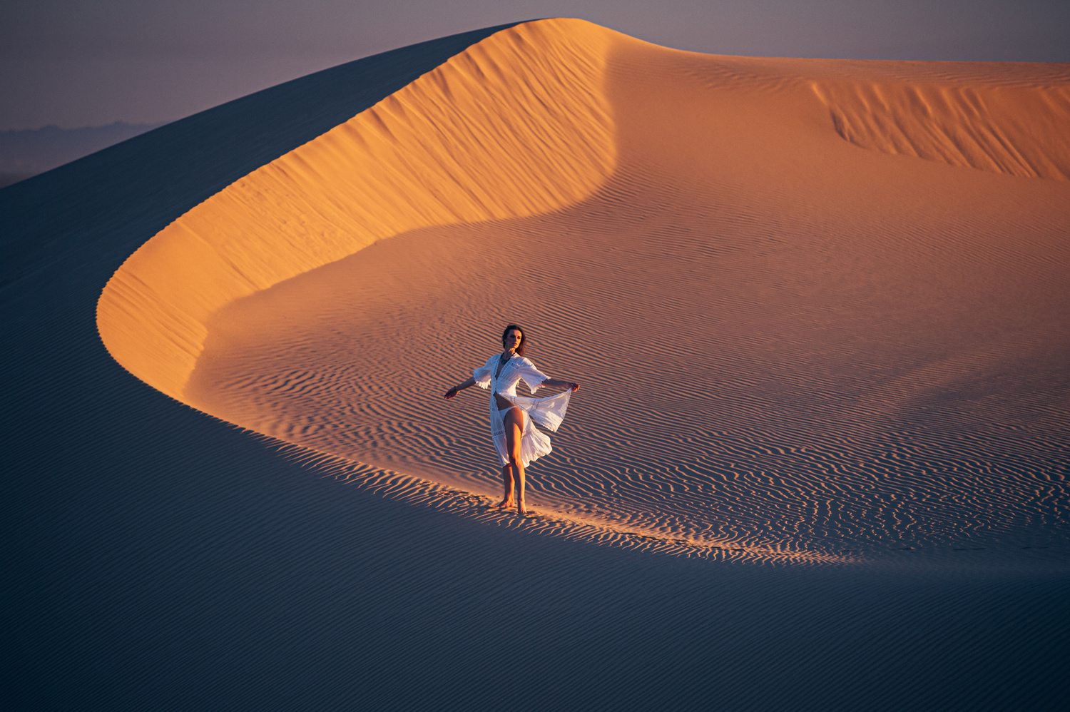 Polina | Dunes by Jean-Claude Vorgeack